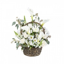 The basket of exquisite whiteness